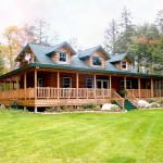 Custom Cedar Log Homes Luxury Cottage Floor Plans Architectural