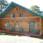 Custom Hewn Log Home Sale Owner