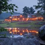 Custom Homes Fairfield Pennsylvania Log Cabin