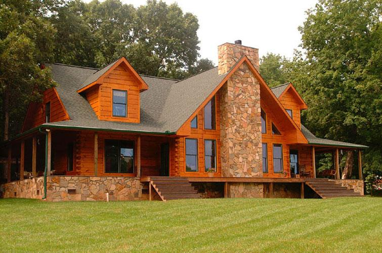 Custom Homes Timber Frame Icf Log Home Packages