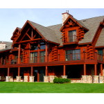 Custom Log Home Builders Wisconsin