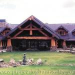 Custom Log Homes Designed Built Pioneer