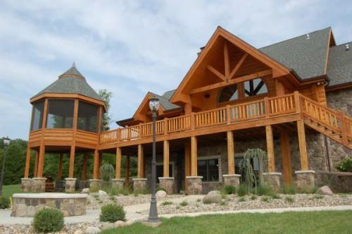 Custom Log Homes Thermal Building System Insulated