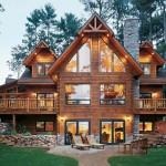 Custom Made Log Cabin Home
