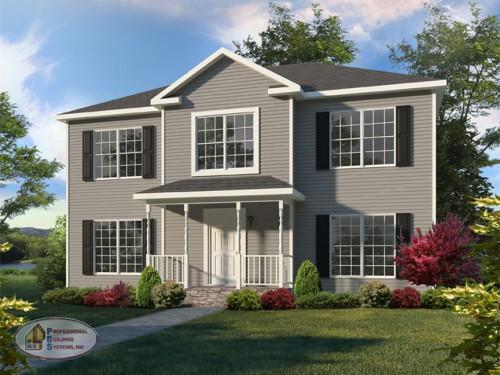 Custom Modular Homes Builder Plan Saratoga