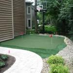 Custom Outdoor Putting Green Worthington Ohio