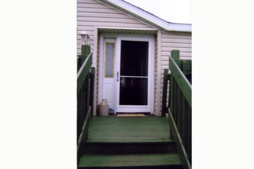 Custom Storm Door Manufactured Home