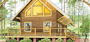 Cypress Log Homes Depot Home Plan