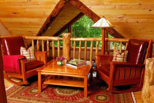 Decorating Ideas Log Cabin Home