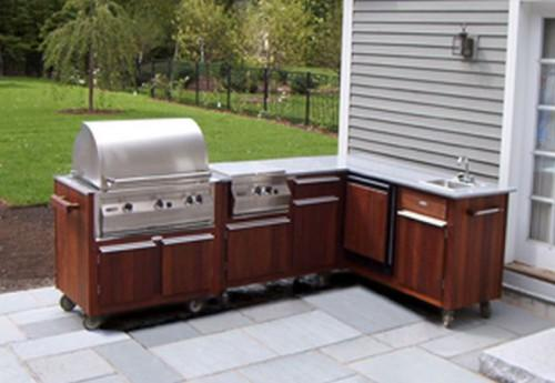 Defining Prefab Outdoor Kitchen Cabinets
