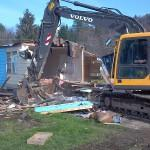 Demolish Damaged Mobile Homes Weston Home Park Berlin