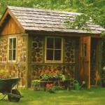 Design Garden Tool Sheds Fancy Log