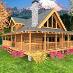 Design Log Cabin Floor Plans Onarchitecturesite Outstanding