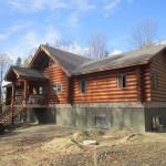 Different Styles Log Homes