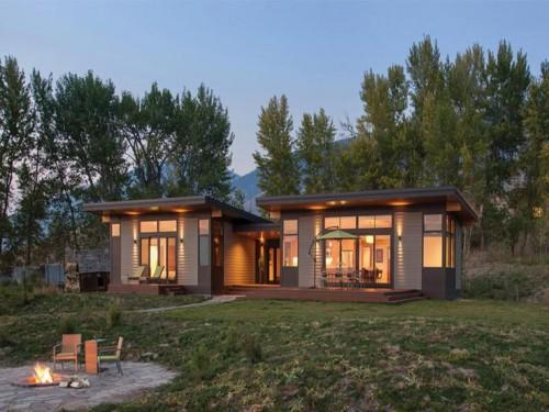 Double Dwell Prefab Homes Style