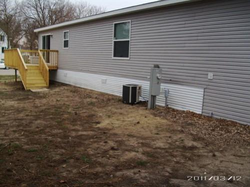 Double Wide Home Skirting Ideas