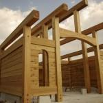 Dovetail Log Structure Italy