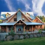 Dream Deferred Appalachian Style Log Home Washington State