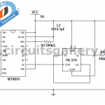Dtmf Cell Phone Controlled Home Appliances Engineering Project Circuit