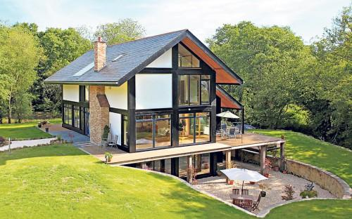 Earlier Today Found Gorgeous Eco Friendly House Design