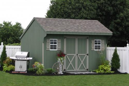 Easy Way Construct Your Own Shed Using Prefab Sheds