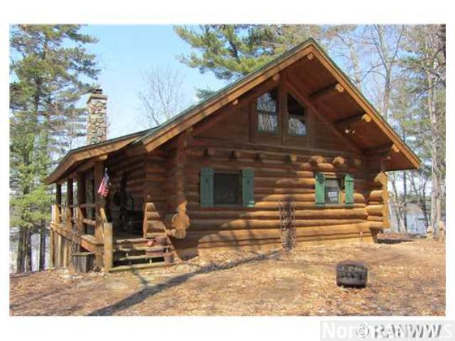 Eau Galle Log Home Sale