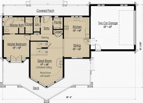 Eco Friendly Home Plans Summer Floor Plan Modern