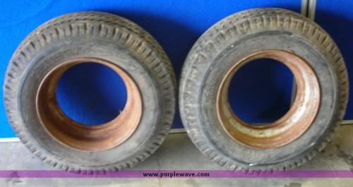 Eight Ply Mobile Home Tires Rims