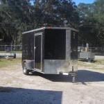 Enclosed Trailer New Insulated Ceiling Ramp Nose