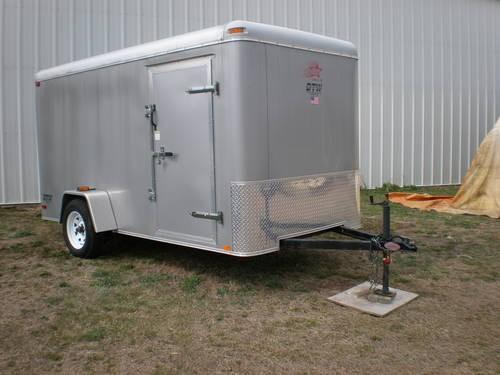 Enclosed Utility Trailer Ancora New Jersey Sale