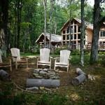 Enjoy Campfire Designed Beaver Mountain Log Cedar Homes