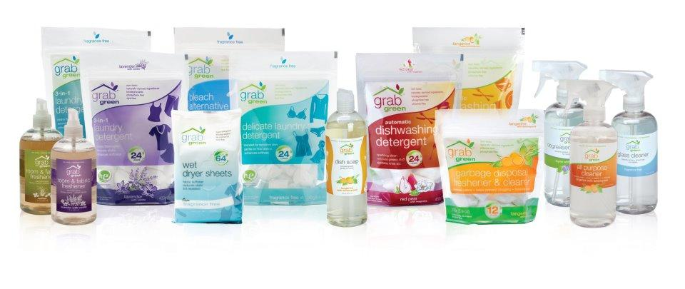Entire Line Eco Friendly Cleaning Products All
