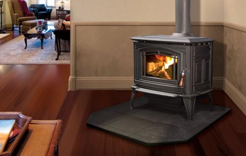 Enviro Boston Cast Iron Freestanding Wood Stove