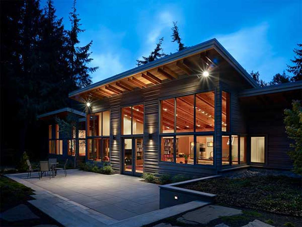 Environmental Homes Port Townsend Wooden Green House Home