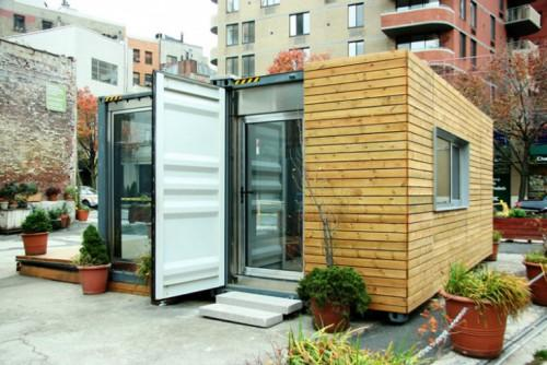 Environmental Kinetic Assembly Made Steel Shipping Containers