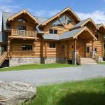 Estemerwalt Log Homes Exclusive Provider Germany Snow