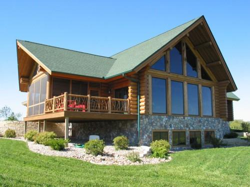 Even Discount Your Lot Build Honest Abe Log Homes