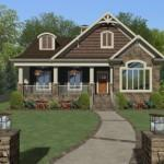 Evergreen Cottage House Plan Award Winning Green