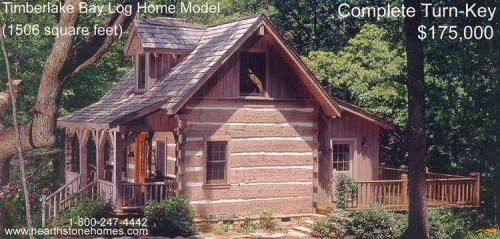 Exclusive Log Home Package Timberlake Bay Douglas Lake