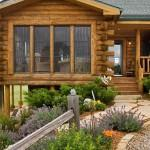 Expedition Log Homes Entrance Cabin