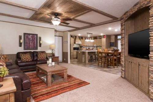Experience Comfortable Living Our Colonial Doublewide Today