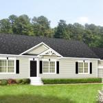 Exterior Home Design Awesome Manufactured Homes White Wooden Wall