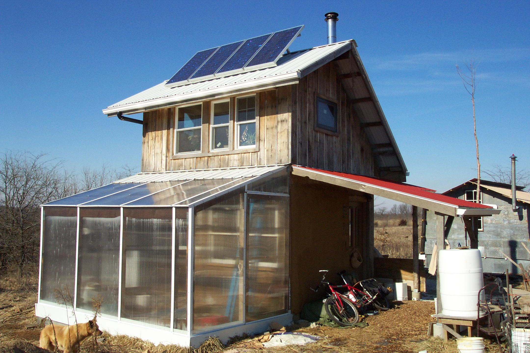 Exterior Lovely Small Sustainable Homes Numerous Solar Cell