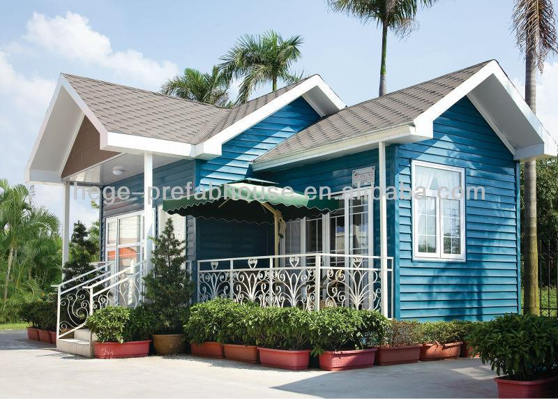 Fashionable Luxury Light Steel Modular Homes Prefab
