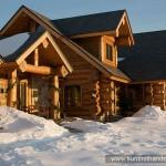 Featured Handcrafted Log Homes Belchertown
