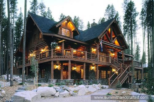 Featured Handcrafted Log Homes Grand Lake Colorado