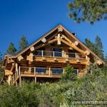 Featured Handcrafted Log Homes Leavenworth Washington