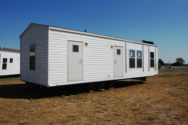 Fema Manufactured Homes Velva Staging Area