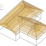 Figure Illustration Prefabricated Metal Plated Roof Truss