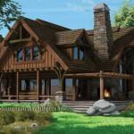 Flat Iron Chalet Home Mountain Architects Inc